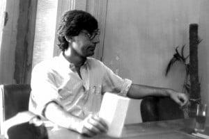 Giancarlo Siani cronista del 'Mattino' di Napoli, ucciso dai camorristi il 23 settembre 1985