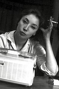 Giornalista, scrittrice e corrispondente di guerra Oriana Fallaci