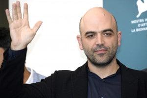 Lo scrittore Roberto Saviano al 76° Festival Internazionale del Cinema di Venezia, 5 settembre 2019