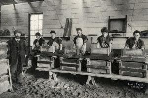 Miscelazione dinamite, 1897. Ardrossan (Scozia)