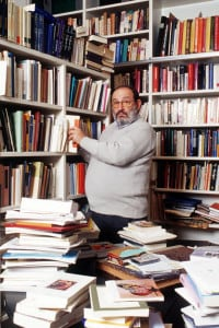 Umberto Eco. Modena, 15 aprile 1977