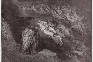 Paolo e Francesca: tema sul Canto 5 dell'Inferno di Dante Alighieri