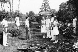 Il giardino dei Finzi-Contini: una scena dal film del 1970