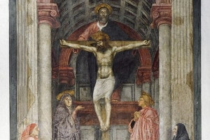 Trinità di Masaccio, Chiesa di Santa Maria Novella a Firenze