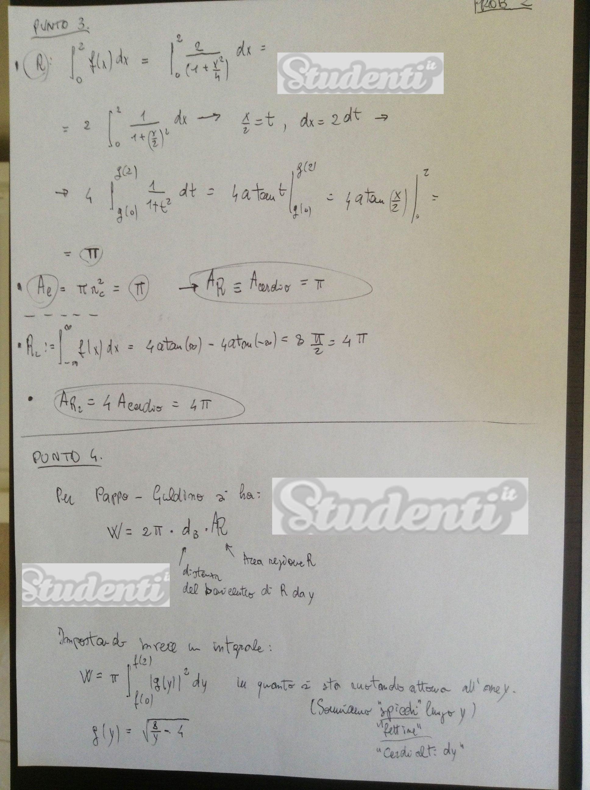 Soluzione Problema 2 seconda prova matematica maturità ...